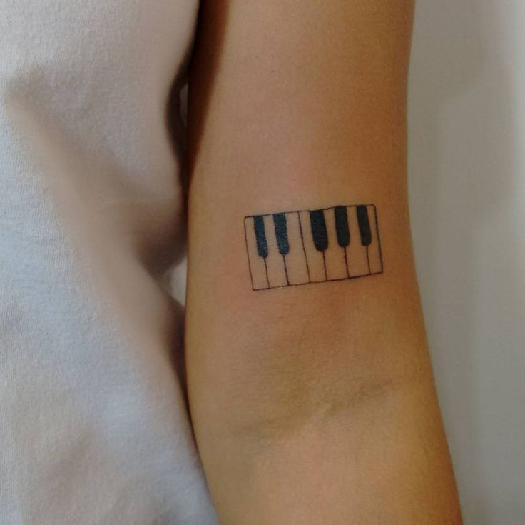 Piano Tattoo                                                       …