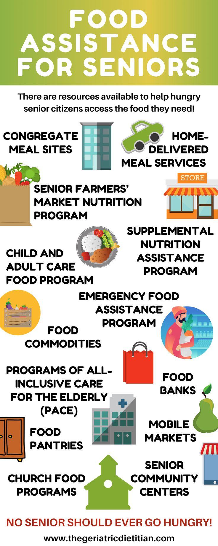 Food Assistance For Seniors Elderly Care Senior Health Older Adults