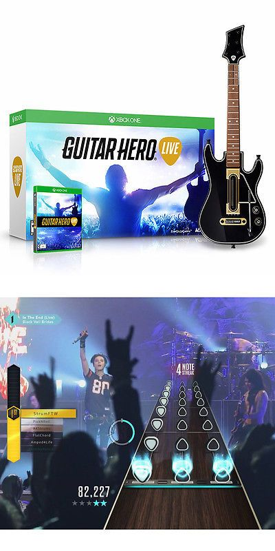 Video Gaming: Guitar Hero Live Bundle - Xbox One New And Sealed -> BUY IT NOW ONLY: $32.99 on eBay!