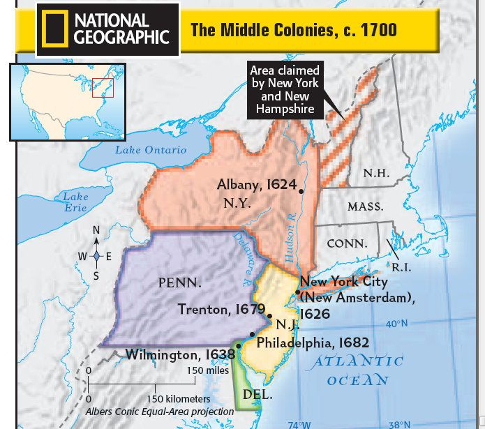 12 best Middle Colonies images on Pinterest  Colonial america 13