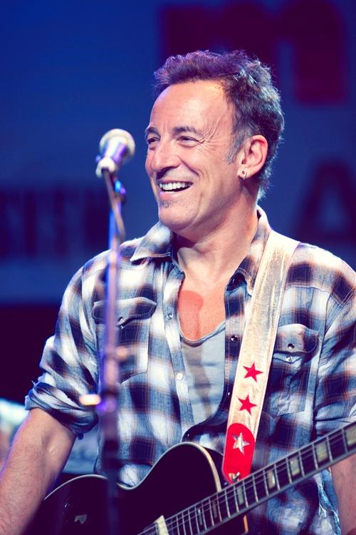 I adore Bruce Springsteen.