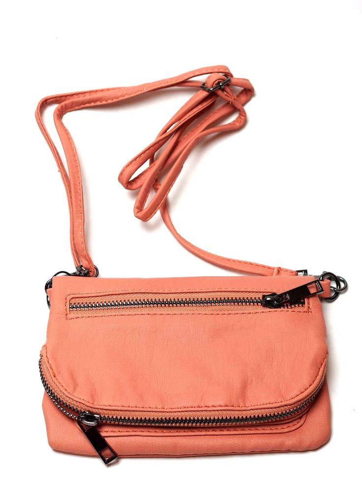 Sandwich Clothing Shoulder Bag in Coral Shop Now at Katie Kerr> http://www.katiekerr.co.uk/sandwich-clothing-shoulder-bag-413-coral