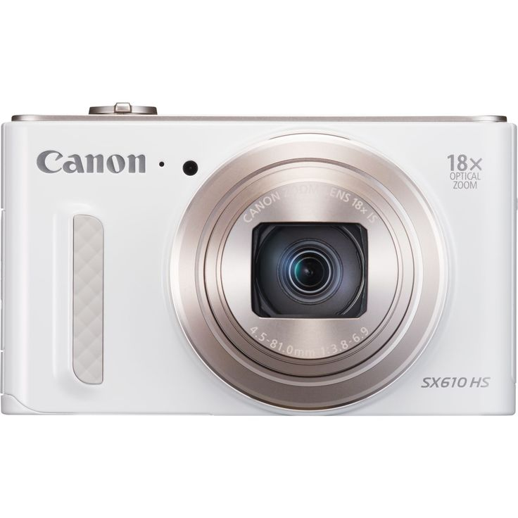 Visit Canon for Canon PowerShot SX610 HS - White and share with all your friends.