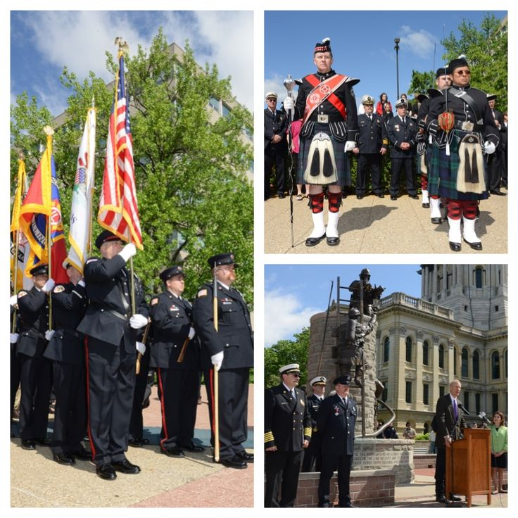 CEREMONY HONORS FALLEN FIREFIGHTERS, RECOGNIZES OTHERS FOR LIFE-SAVING ACTS OF BRAVERY