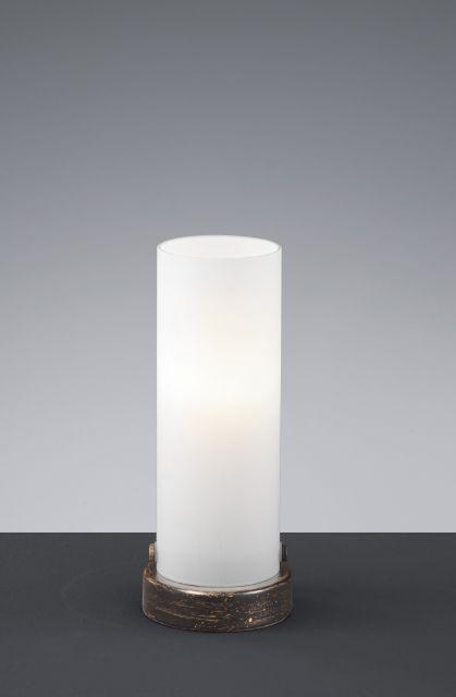 5740 - TRIO - dotyková LED lampa - 210mm - antická hrdza