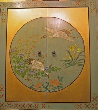 Custom Painting Projects asian medicine cabinets