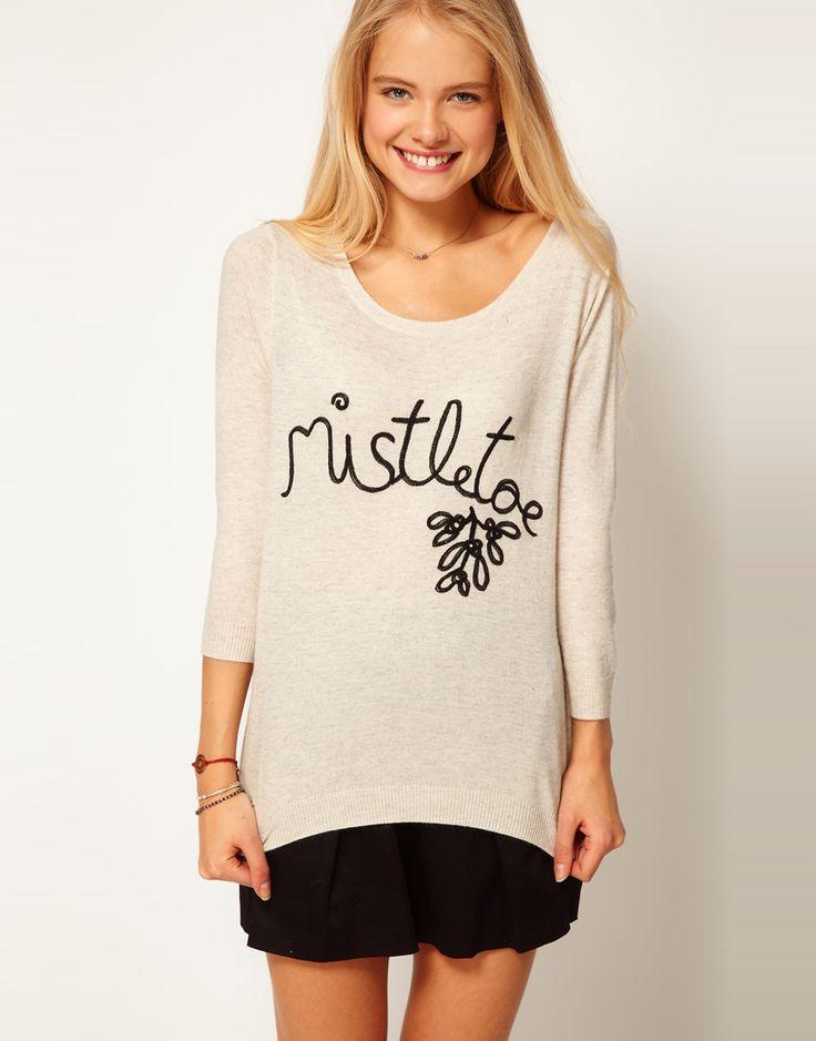 ASOS Mistletoe Sweater