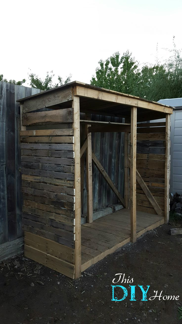 DIY Pallet Wood Shed for Nothing!