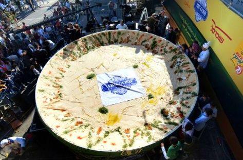 Verdens største hummus
