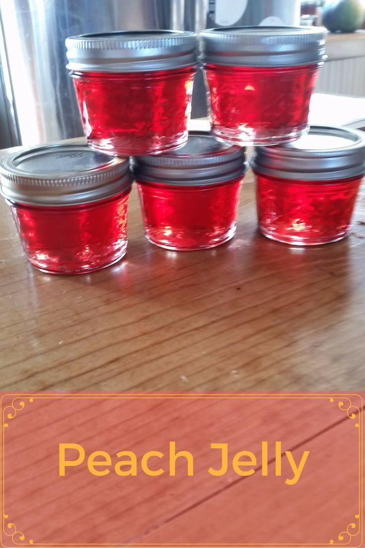 What is the difference between Jelly and Jam? Jelly is from the juice and Jam is all or part of the fruit. Come see how to make this wonderful Peach Jelly.