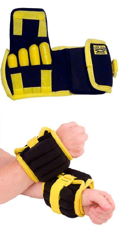 Aquatic Fitness Equipment 158922: All Pro Swim Aquatic Therapy Wrist Weight Cuffs Traction Water Aerobics Swimming BUY IT NOW ONLY: $42.5