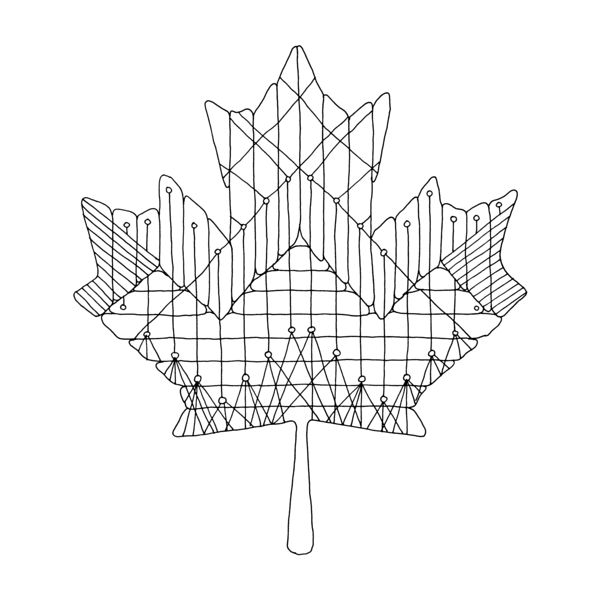 167 best images about canadian maple leaf colouring pages for Maple leaf coloring pages