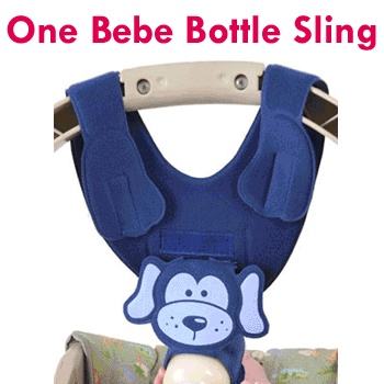 Bottle sling - great twin gift!