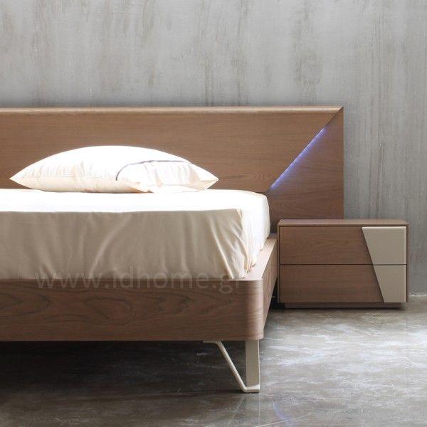 Σετ κρεβατοκάμαρα με κρυφό φωτισμό