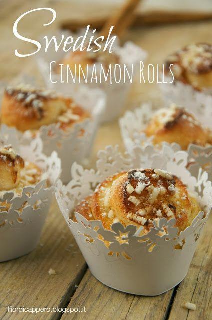 Swedish #cinnamonrolls http://ilfiordicappero.blogspot.it/2013/12/swedish-cinnamon-rolls-la-re-cake-di.html