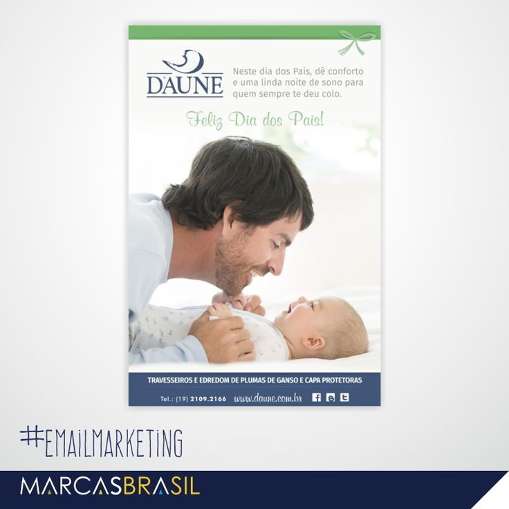 E-mail Marketing de Dia dos Pais – Daune > Desenvolvimento ...