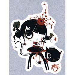 Misery sticker - Miss Muffet