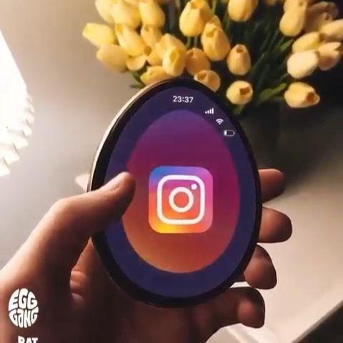 A smartphone shaped like an egg? What do you think?
