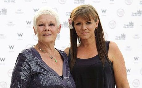 Finty Williams with her mother, Judi Dench (PHOTO: JONATHAN HORDLE/REX