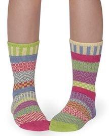 Aster recycled cotton multicolour odd-socks | Crafted by Solmate
