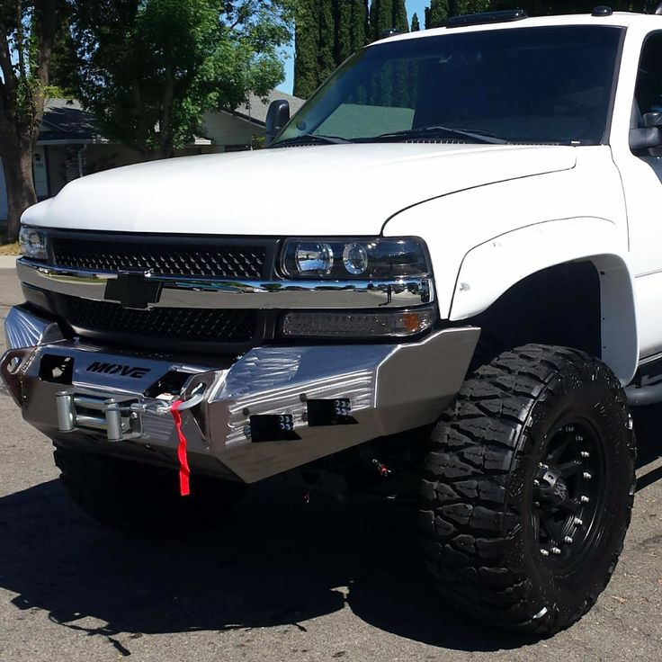 Customizable Wiy Front Standard Chevy Suburban 2000 2006 Truck 2720 Move Bumpers Truck Bumpers Chevy Tahoe Chevy Duramax