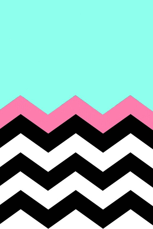 Chevron with pink