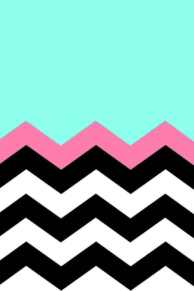 turquoise zigzag wallpapers pinterest - photo #23