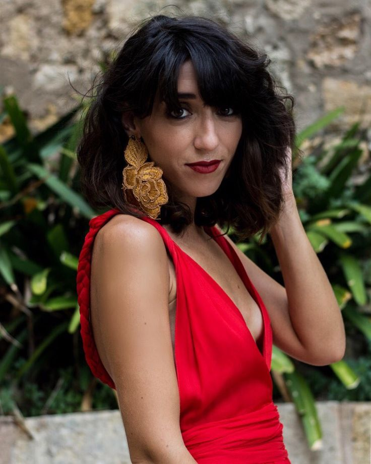 Invitada boda vestido rojo / Wedding guest red dress  Maquillaje/Make up - @Laylaaddiction de NARS (El Corte Inglés - Plaça Catalunya)  Vestido/Dress Maria Roch - Old Pendientes/Earrings BPCR Collections vía Roch Store - SS 17 Sandalias/Sandals Lanvin - Old  http://www.laflorinata.com/2017/08/look-del-dia-lady-in-red.html