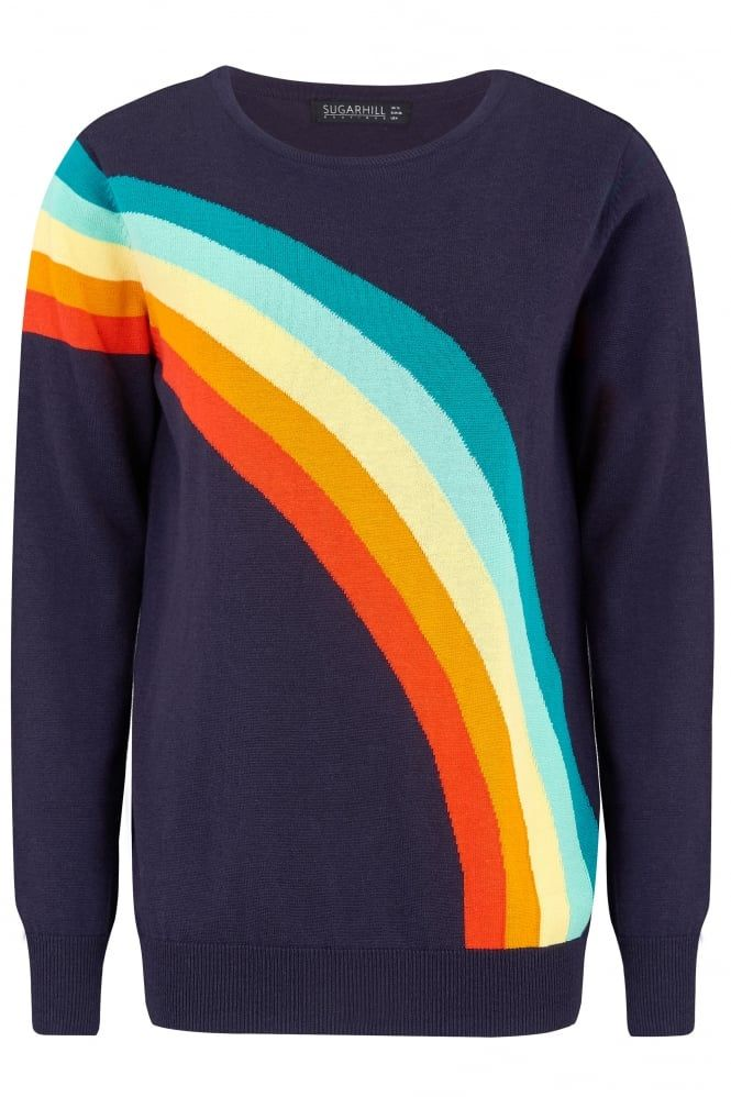 Rainbow jumper!