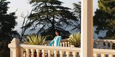 The ultra-exclusive resort Ananda in the Himalayas is built around a viceregal palace. Twist your body into a half-butterfly as on the cliffs' edge as monkeys play in the trees overhead, unwind during one of their signature spa treatments or rub elbows with celebrities. Brad Pitt and Angelina Jolie and Oprah Winfrey are clients.