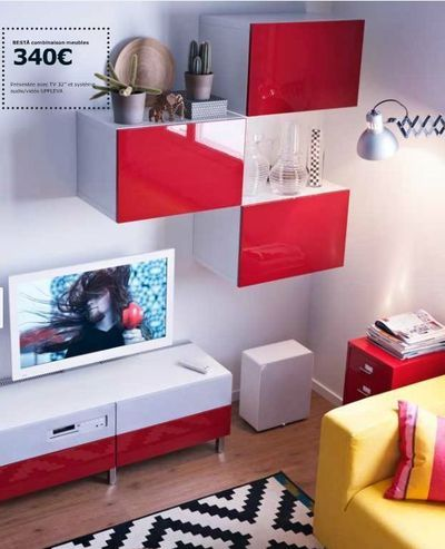 96 best images about decoration on pinterest photo montage hanging rope an - Ikea meuble tv mural ...