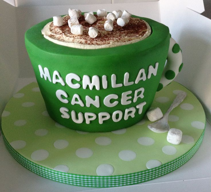 MacMillan Cancer Support Coffee Morning Cake