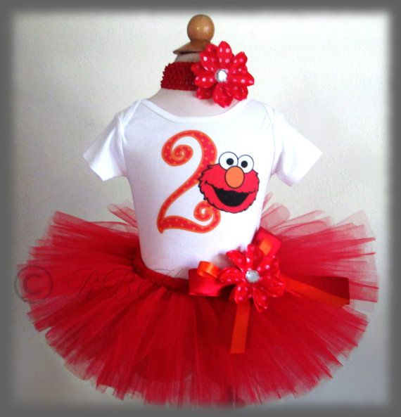 Hey, I found this really awesome Etsy listing at http://www.etsy.com/listing/159197567/1st-2nd-birthday-tutu-outfit-elmo-tutu