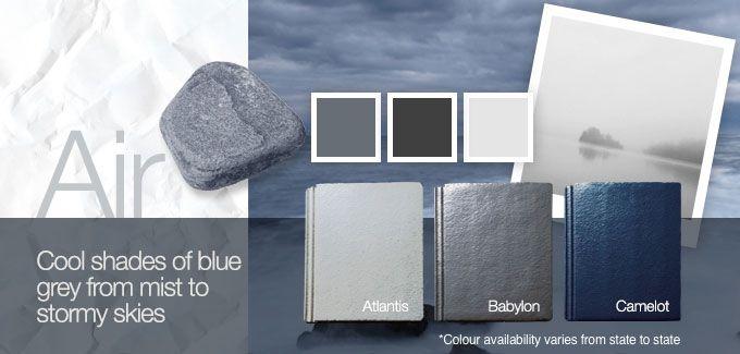 Monier Colour Palette – Air