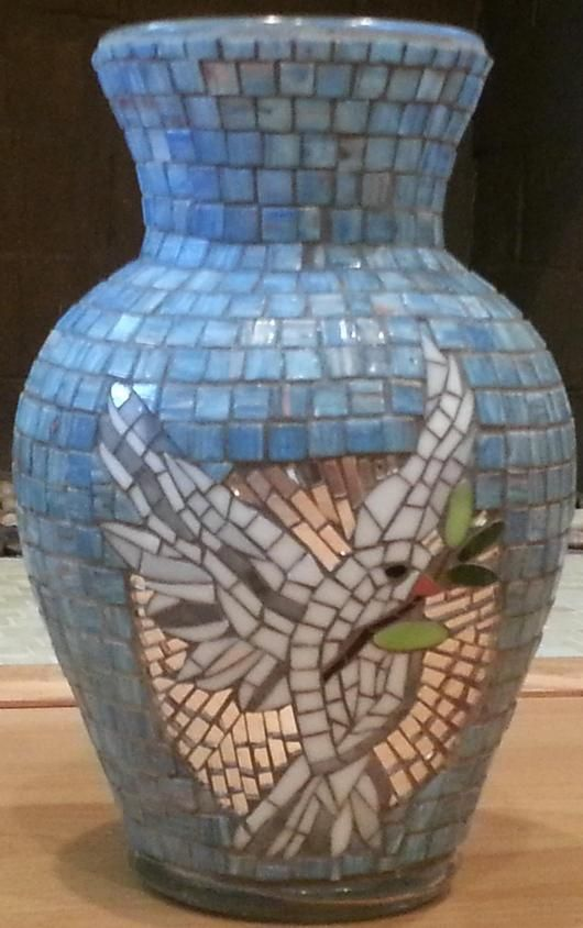 Wings Of Peace - from Delphi Artist Gallery by House Of Mosaic