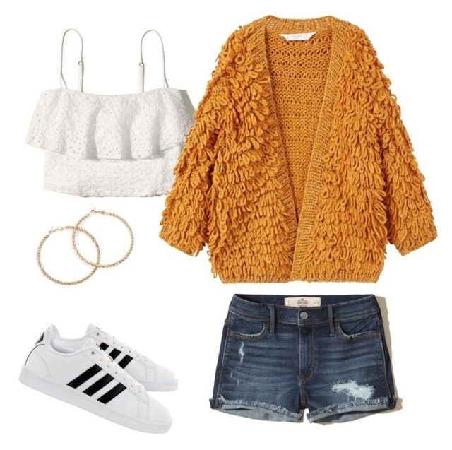 """""""Price Savy outfits for summer"""" by charlene-subbarayan on Polyvore featuring Hollister Co., MANGO and adidas"""