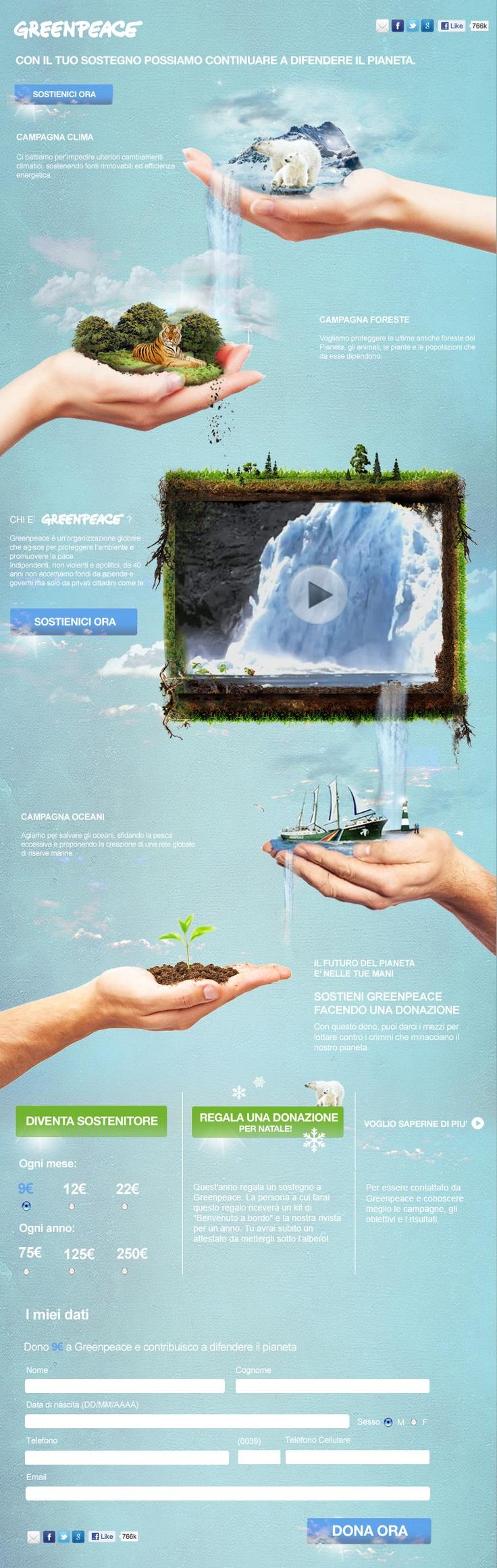 #GreenPeace - Il futuro del pianeta