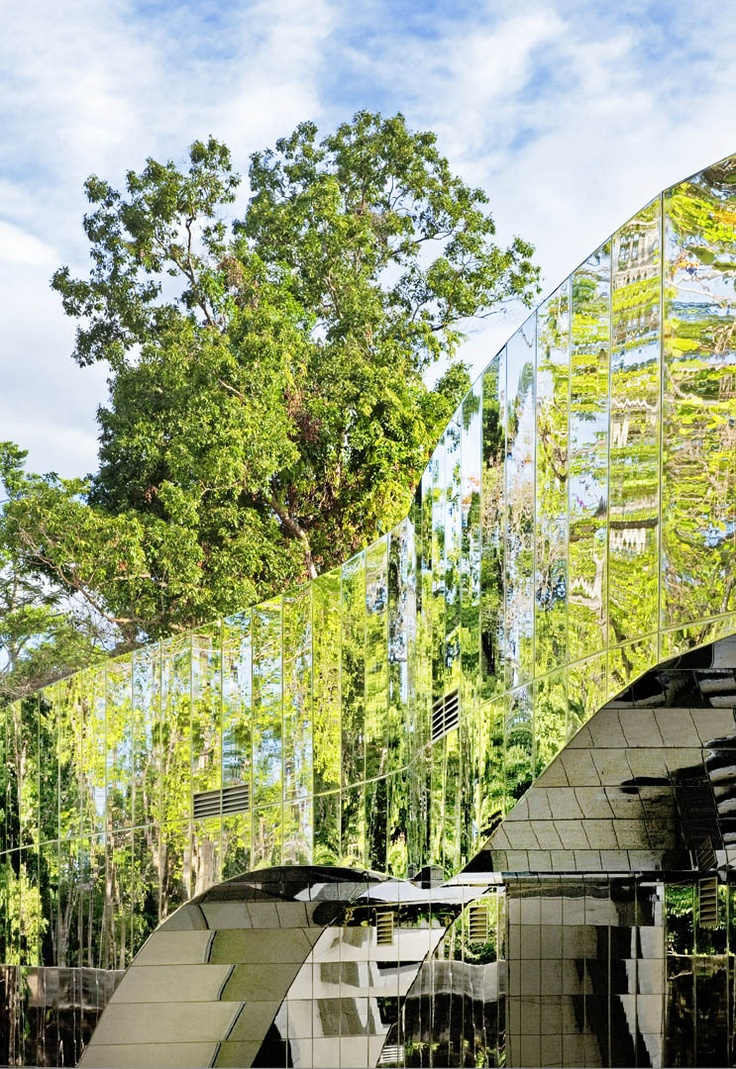 cairns botanic gardens visitor centre  charles wright architects