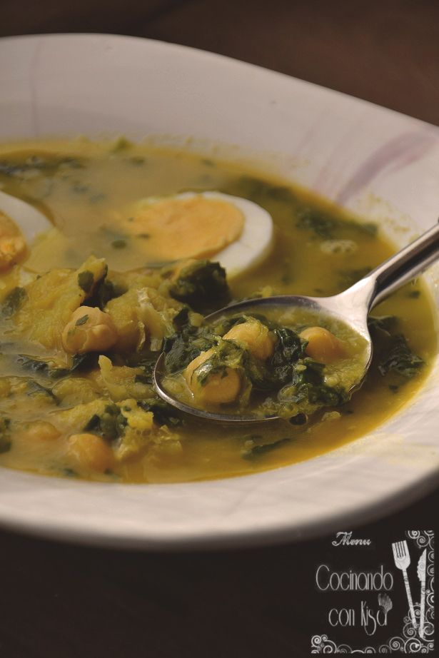 Cocinando con Kisa: Potaje de Vigilia (Thermomix)