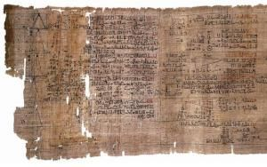 "The Rhind Papyrus: Advanced Ancient Egyptian Mathematics ""1300 years before Thalès was born, Ancient Egyptians solved the famous theorem which now bears his name, Theorème de Thales in French, or Intercept theorem in English.... So why are these theorems called after Pythagoras or Thales, when they had already existed thousands of years prior to their living?"""