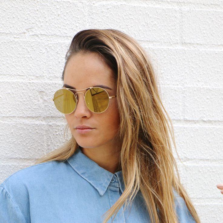 SICILY - Gold @shevoke #sunglasses #gold #theisland