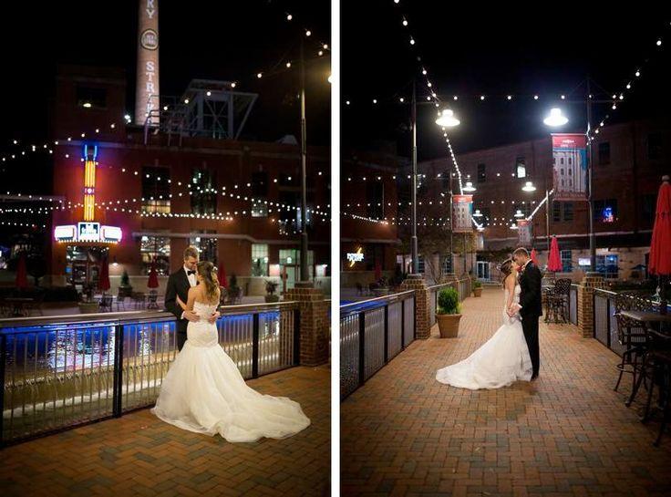 Baseball Stadium And Bay 7 Wedding In Downtown Durham