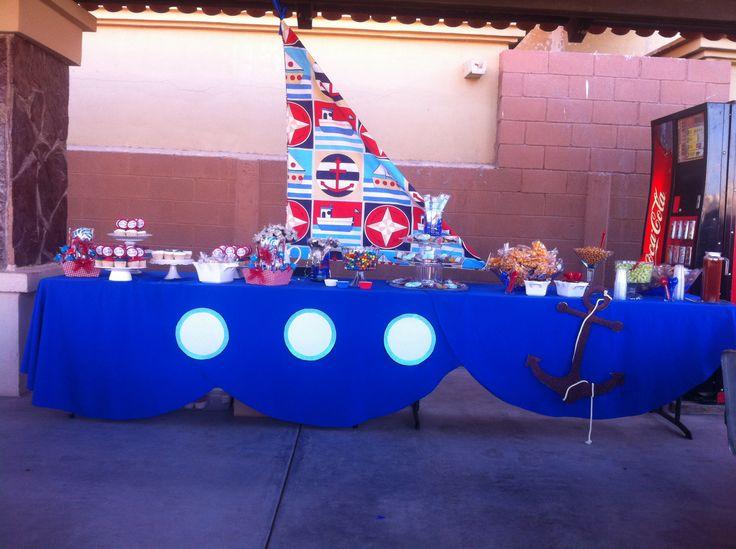 Fiesta marinero fiesta n utica pinterest fiestas - Decoracion fiesta cumpleanos ...