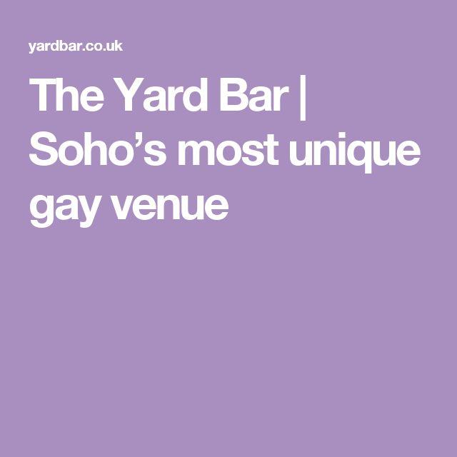 The Yard Bar | Soho's most unique gay venue