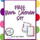 A cute calendar set that can be downloaded and added to your management binder. Perfect for managing important dates, projects, and activities. ...
