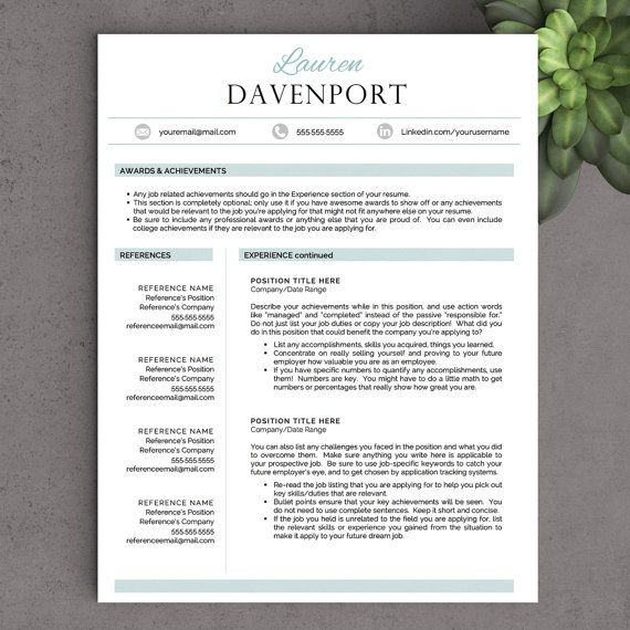 resume templates word modern template curriculum vitae free download
