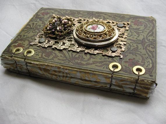 Sweet Victoria Steampunk Journal via Etsy