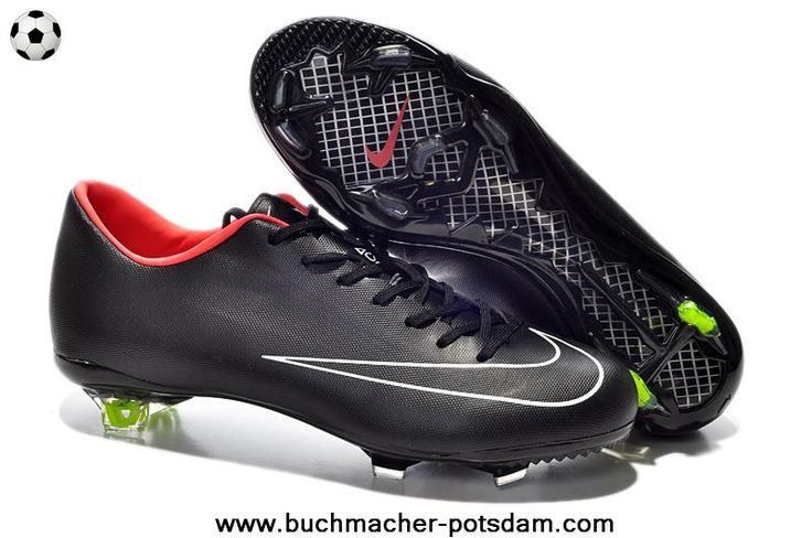 Nike Mercurial Victory (Black/White/Red)