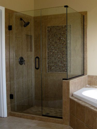 Small Bathroom No Shower Door 24 best master bathroom images on pinterest | master bathroom