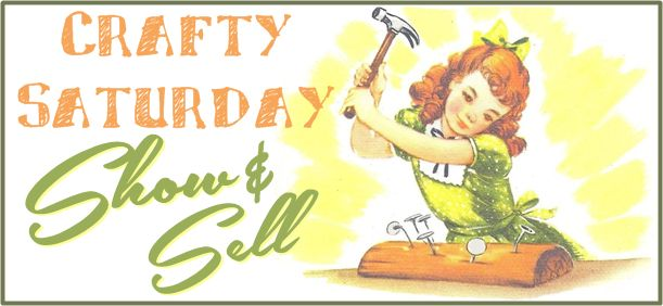 Visit #ZzzonkOwl #thechillydog and #Serendipitini at their blogs and add a couple of your #handmade items for sale to our weekly Crafty Saturday Show & Sell.  Open to all handmade sellers!!  Great for #Etsy and #Artfire shops!  Going on NOW until Monday night, July 28th, 2014!